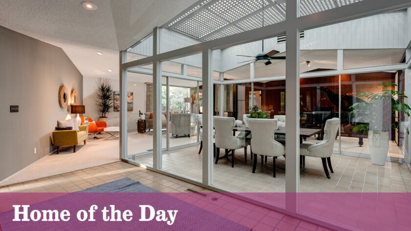 Home Of The Day Pasadena Midcentury Modern With A Beatles