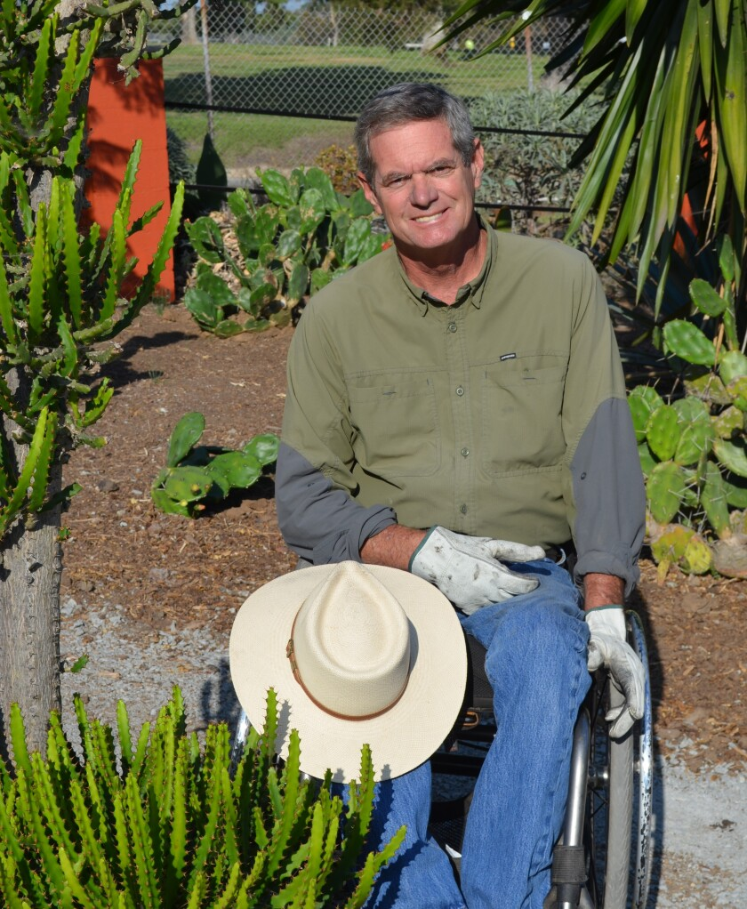 Stephen Cantu is a UCCE Master Gardener and two-time Paralympian whose new video covers Friendly Inclusive Gardening (FIG).