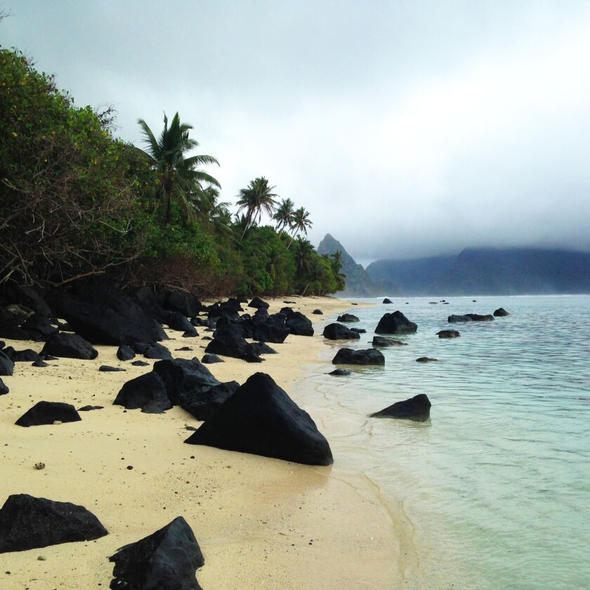 Ofu Lagoon, on Ofu Island, is perhaps the most scenic spot in the National Park of American Samoa.