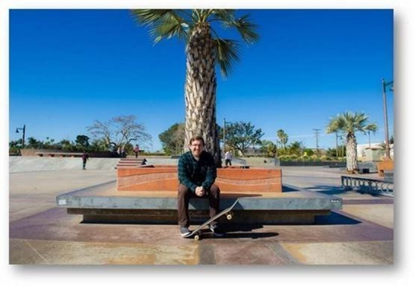 Thomas Barker is a lifelong skateboarder.
