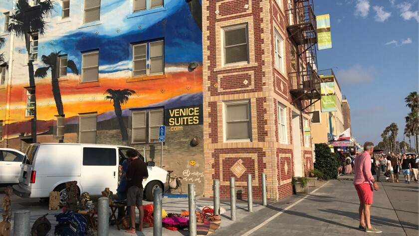 Venice Suites on Ocean Front walk was once a rent-stabilized apartment building with 32 units that a