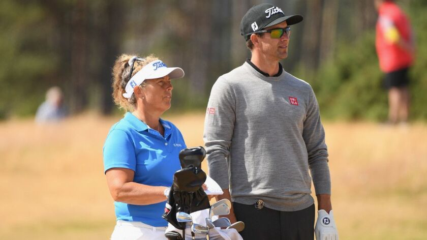Knowledge of caddies has turned golf into a team game - Los