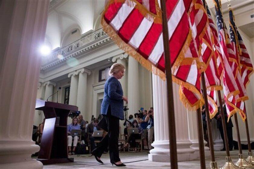 La demócrata Hillary Clinton y el republicano Donald Trump enfocarán todas sus energías en cuatro estados clave: Florida, Ohio, Carolina del Norte y Pennsylvania.