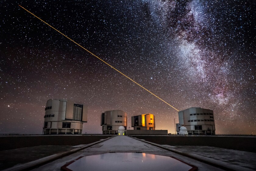 The Milky Way seen from the ESO Observatory in Chile