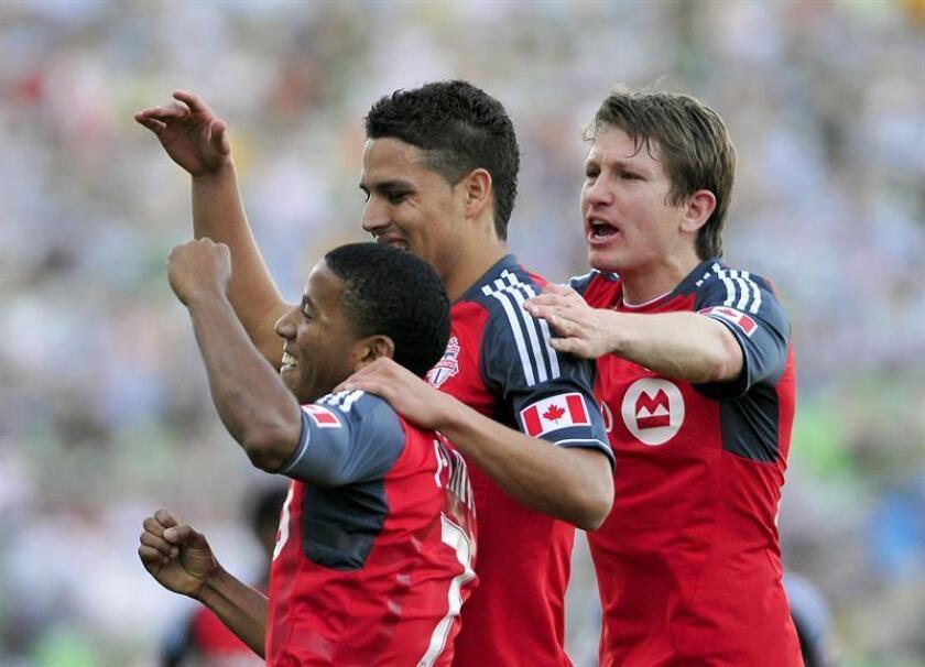 Foto de archivo de algunos jugadores de Toronto FC. EFE/Archivo