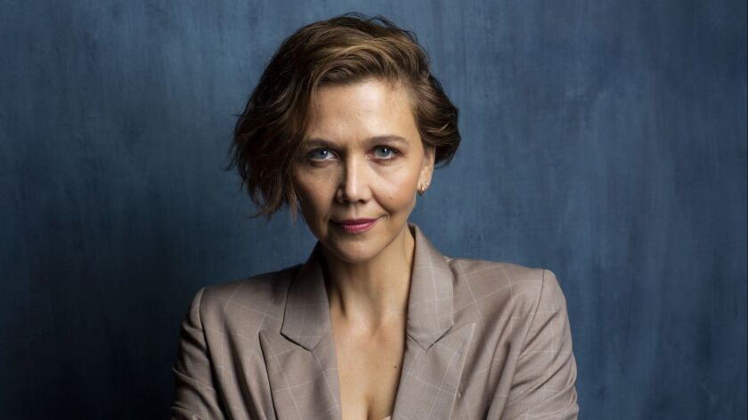 Maggie Gyllenhaal photographed in the L.A. Times Photo and Video Studio at the Toronto International Film Festival. 2018