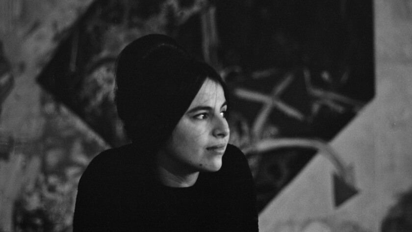 Sculptor Eva Hesse, sometime around 1963.