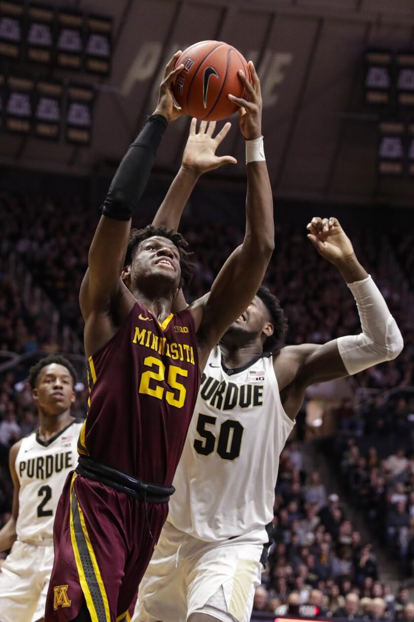Minnesota Purdue Basketball