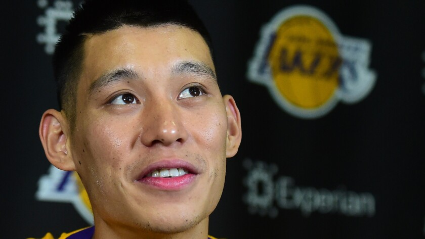 Jeremy Lin could be in line for the Lakers' starting point guard job.
