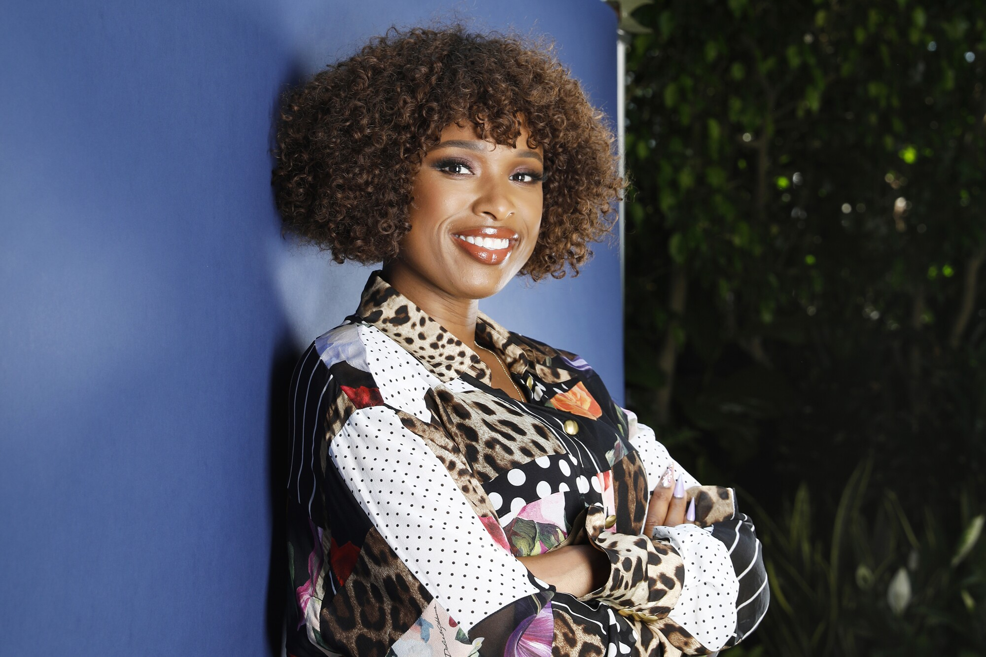 Jennifer Hudson is photographed in Beverly Hills