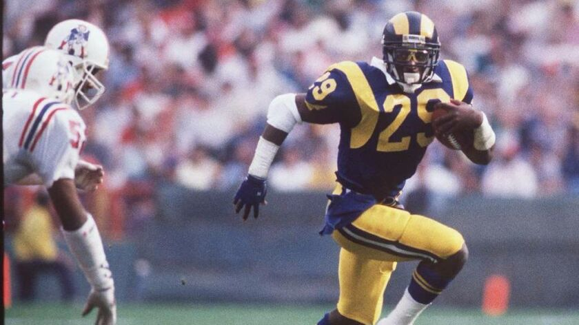 e10b12ce Rams will sign Hall of Fame player Eric Dickerson to one-day ...