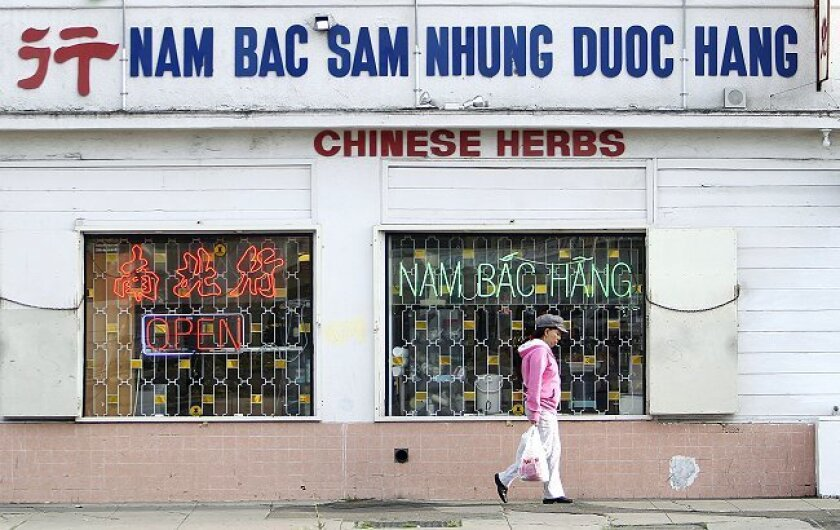 """UCSD Urban Planning student Thao Nguyen looked into the touristic benefit of ethnic business centers and thinks """"Little Saigon"""" will work around El Cajon Boulevard in City Heights."""
