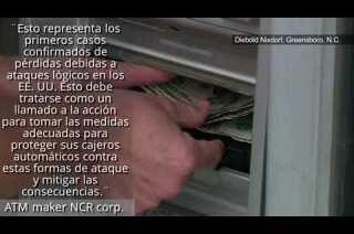 Clonación de tarjetas en ATMs