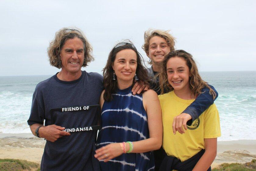 Mark, Snezana, Andrew and Mia Feighan