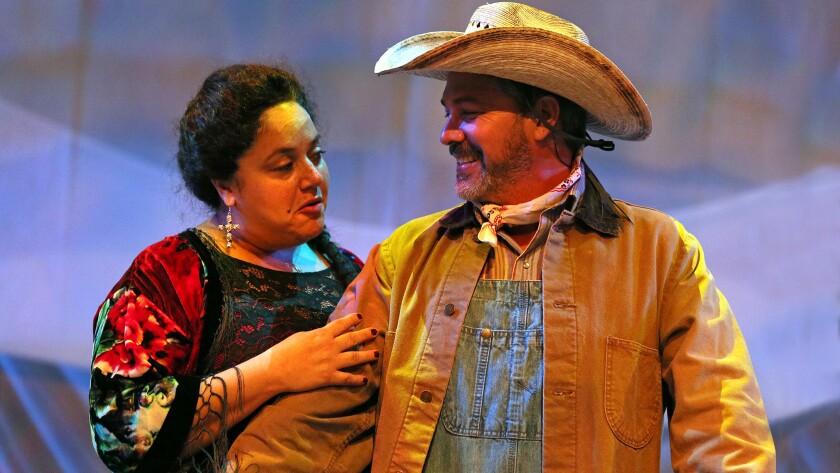 Elisa Bocanegra and Mauricio Mendoza.