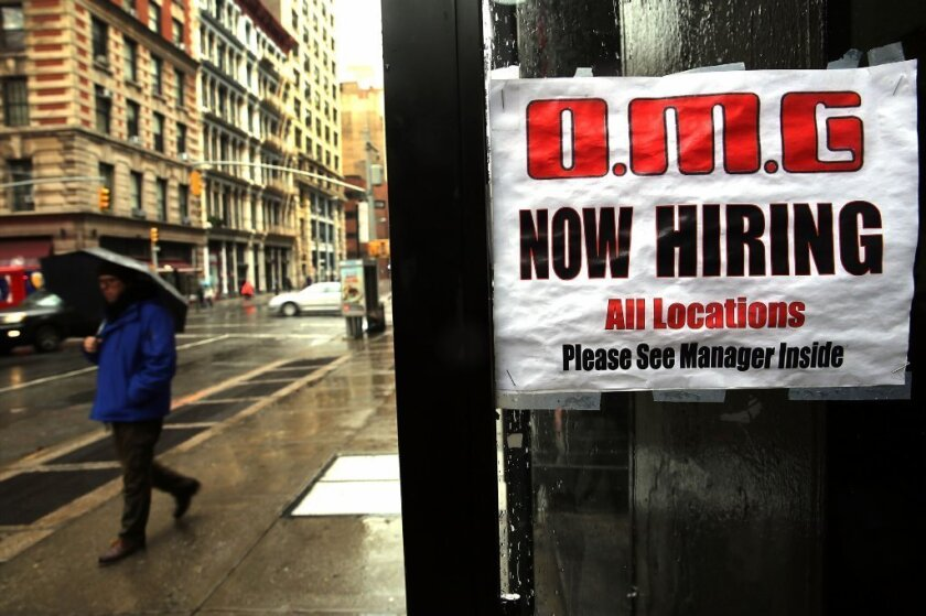 Job growth tumbles in December; employers add just 74,000 to payrolls