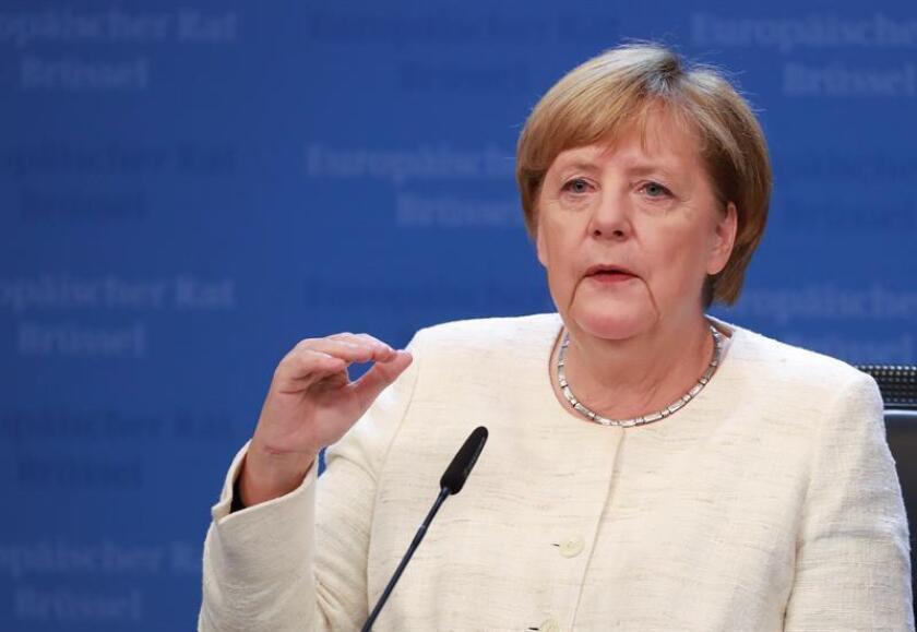 Fotografía de la canciller alemana, Angela Merkel. EFE/Archivo