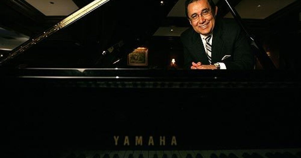 At the Hotel Bel-Air, a pianist's elegance and ivory - Los Angeles Times