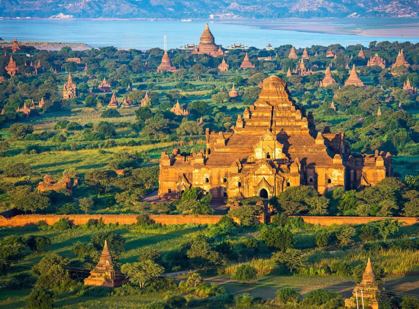 The natural and cultural wonders of Thailand and Myanmar, above, are the focus of a 13-day journey.