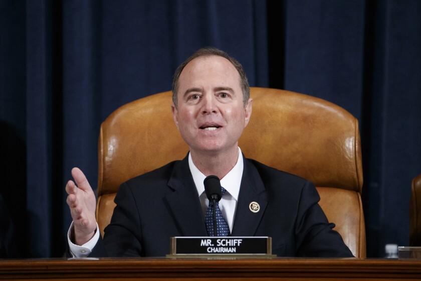 House Intelligence Committee Chairman Adam B. Schiff (D-Burbank).