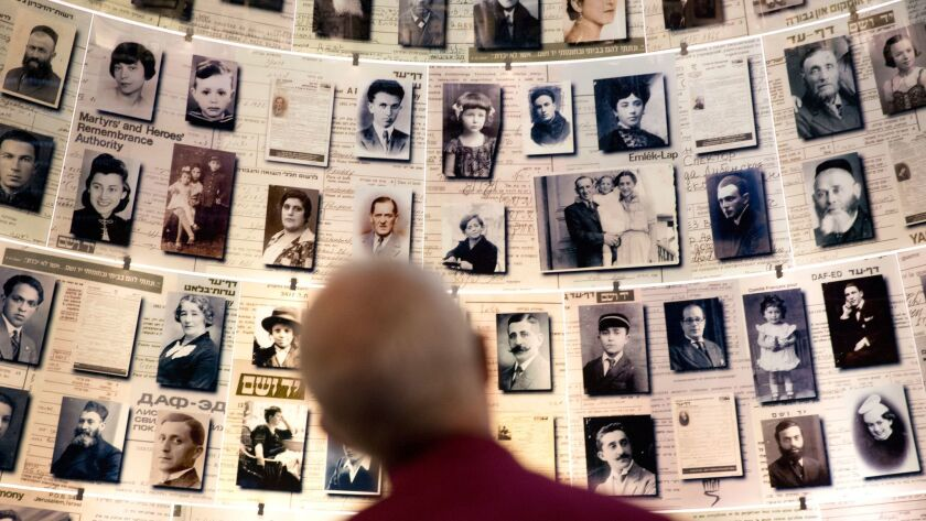 The Archbishop of Canterbury, Justin Welby, visits the Yad Vashem Holocaust memorial, in Jerusalem,