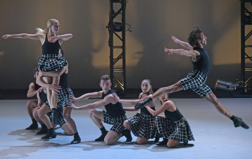 L.A. Dance Project performs 'Hearts & Arrows' at the Wallis