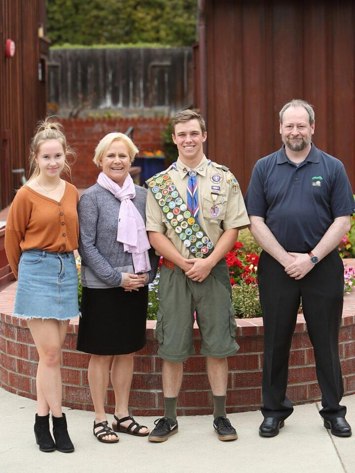 Eagle Scout ceremony held for 7 local Scouts who obtained Eagle Rank
