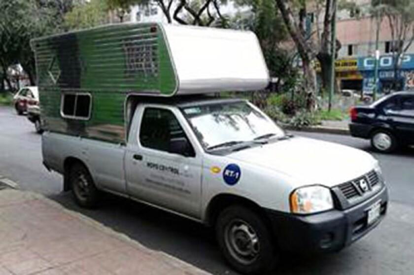 Hasta el momento no se ha podido comprobar si el contenedor con la fuente radiactiva se encontraba en este vehículo.