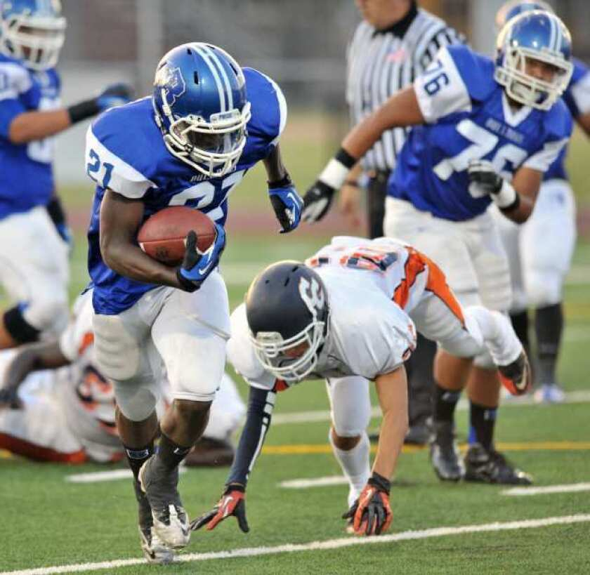 Dominating effort by Bulldogs in football opener