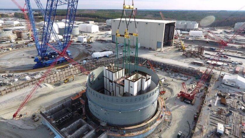 South Carolina's V.C. Summer Nuclear Generating Station in December 2016.