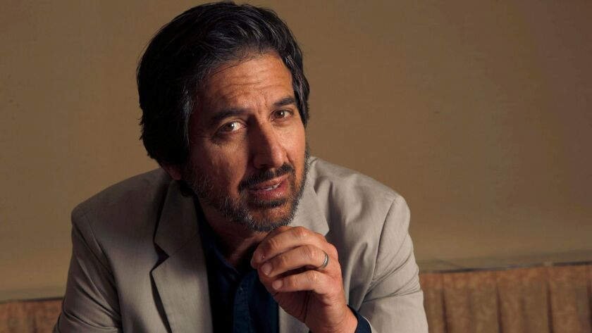 WESTWARD, CA., AUGUST 29, 2017-- Actor Ray Romano, who stars in the Epix mobster comedy, GET SHORTY.