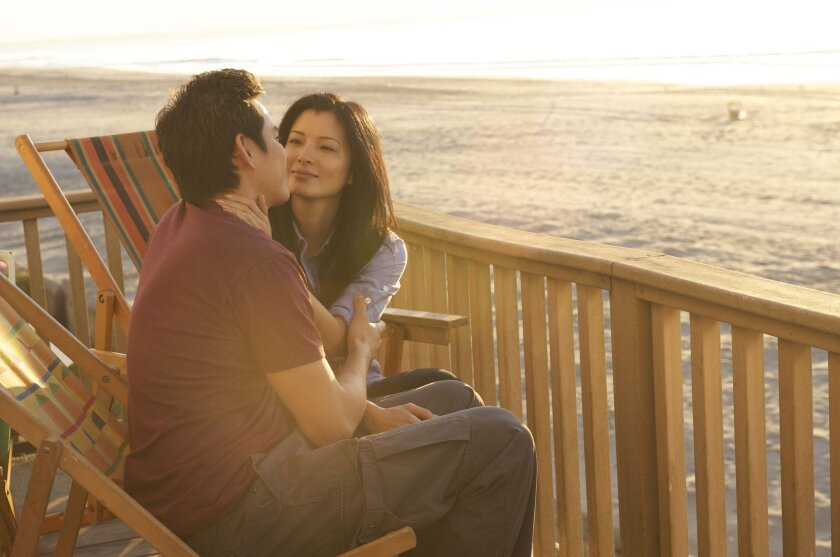 """Kelly Hu and Ivan Shaw star in """"Almost Perfect,"""" the opening night movie of the San Diego Asian Film Festival."""