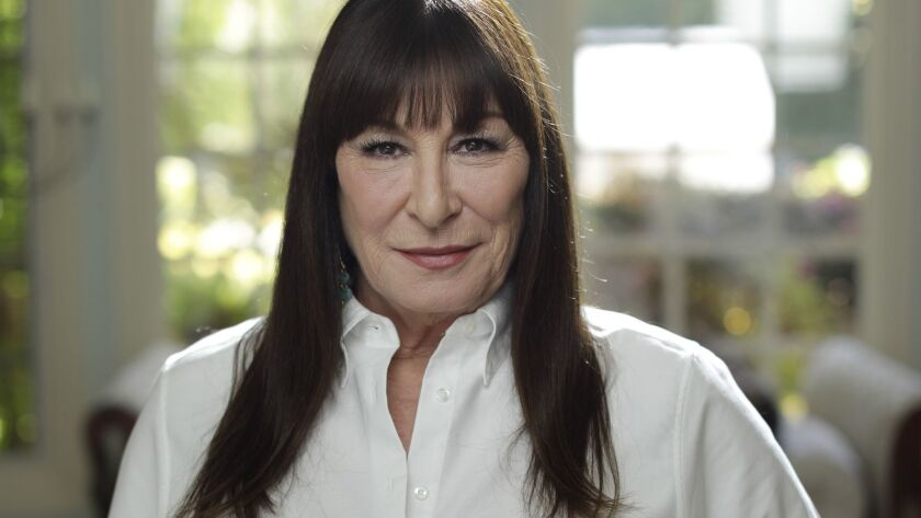 """PACIFIC PALISADES, CA -- APRIL 17, 2019: Anjelica Huston plays """"The Director"""" in """"John Wick: Chapter"""