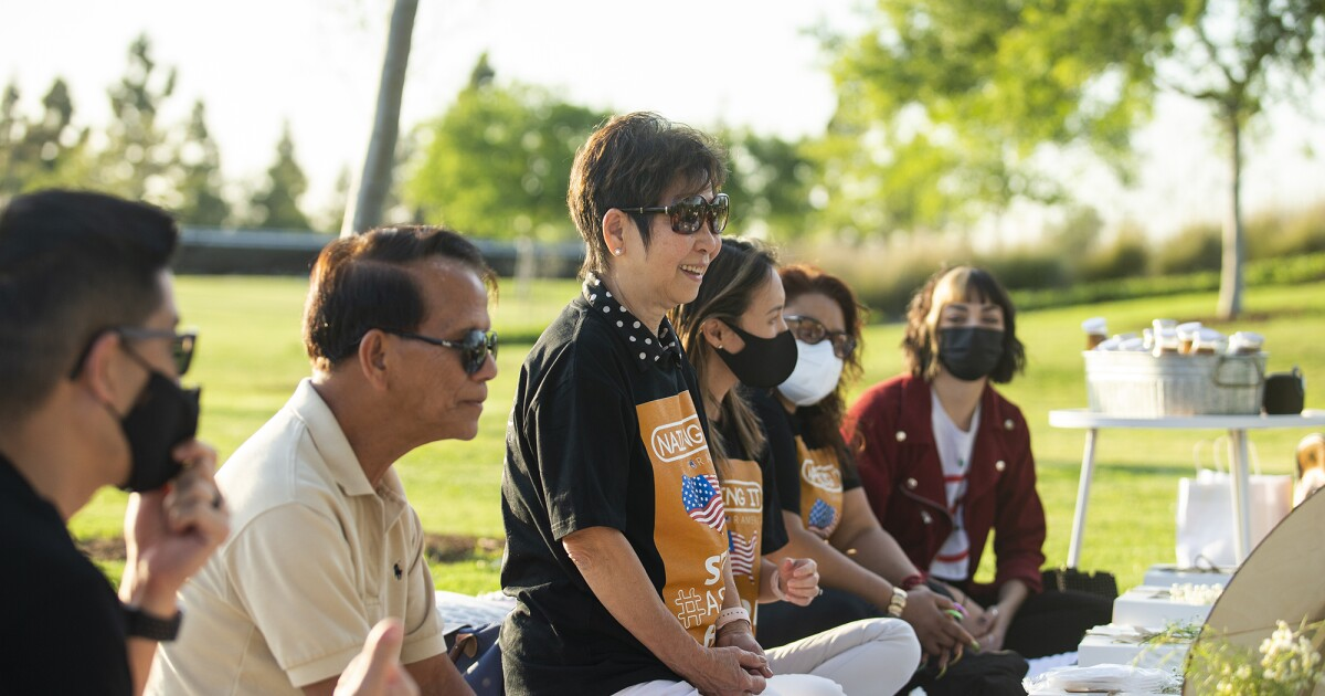 www.latimes.com: 'This is my home. I'm not going anywhere': Victims of anti-Asian rhetoric meet in F.V. to show solidarity