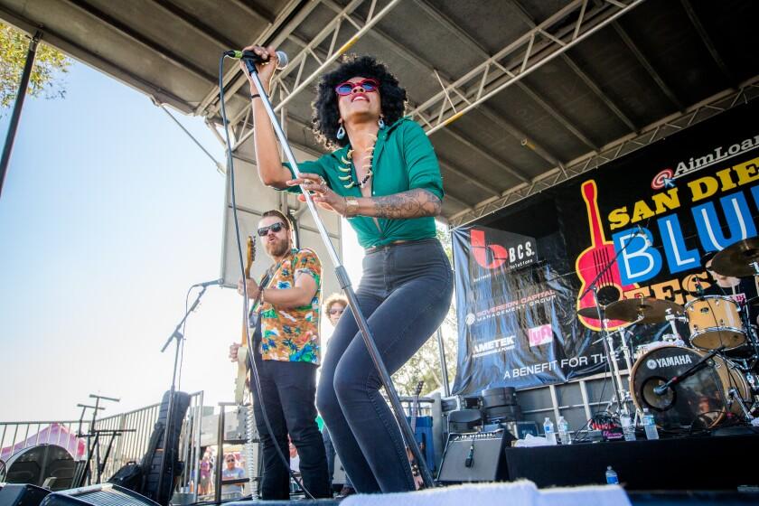 A photo of San Diego Blues Festival