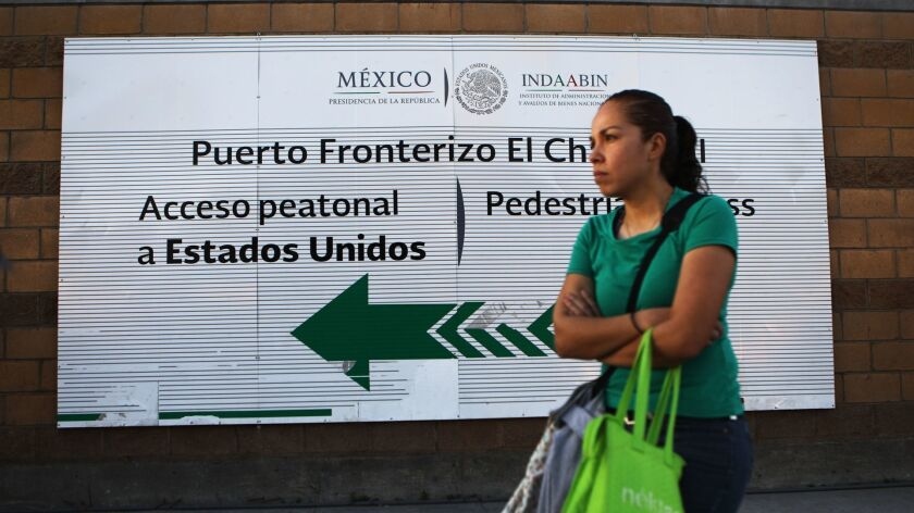 President Trump's Administration To Send Asylum Seekers Back To Mexico As They Await Hearings