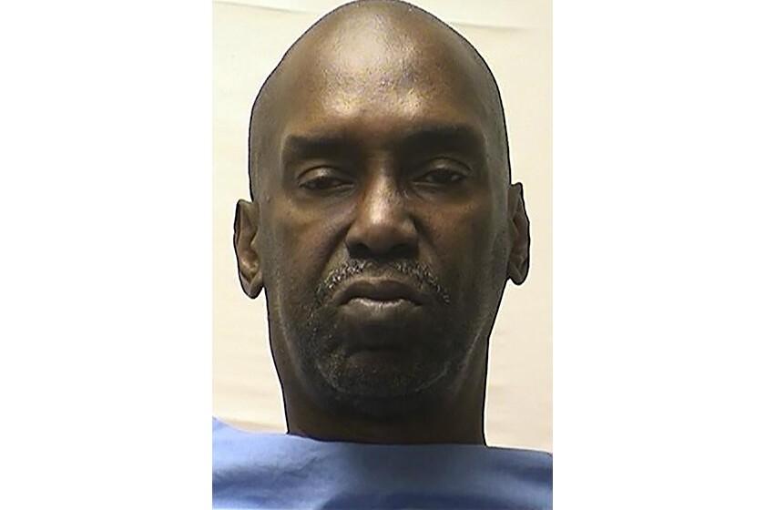 Death row inmate Thomas Potts