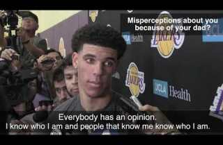 The Lakers hold individual workout for Lonzo Ball