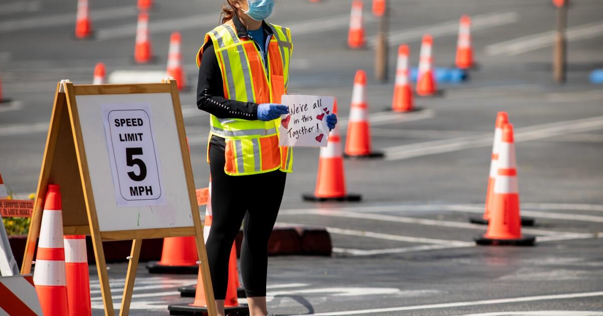 Korban tewas dari coronavirus melewati 300 di California di L. A. County hari terburuk belum