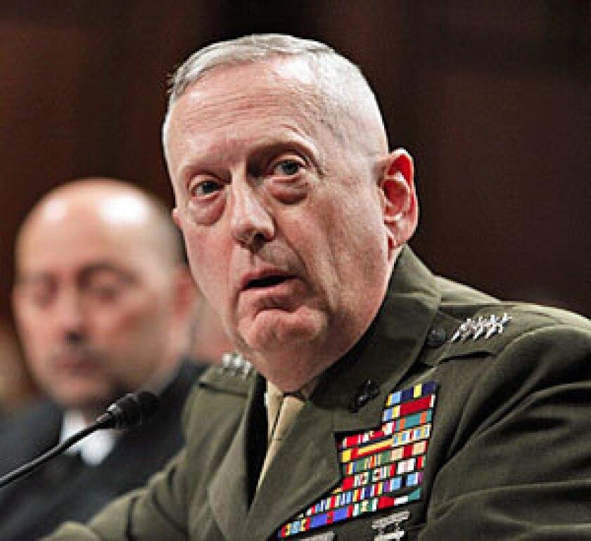 Retired Gen. James N. Mattis.