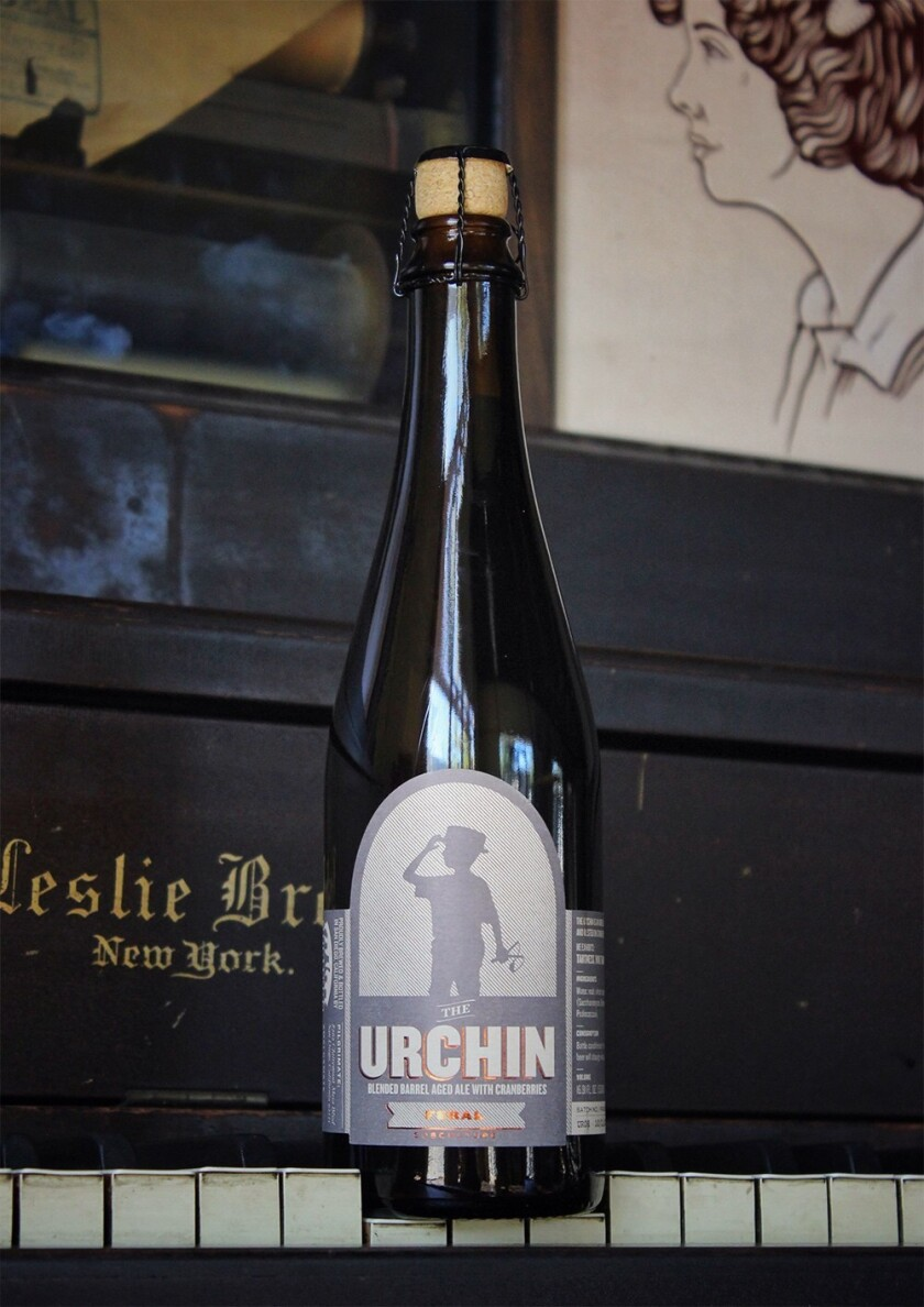 The Urchin, a feral beer released as part of the food drive at Societe Brewing Co. (Societe Brewing)