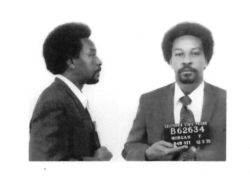 "Frank Morgan mug shot from ""Sound of Redemption: The Frank Morgan Story."""