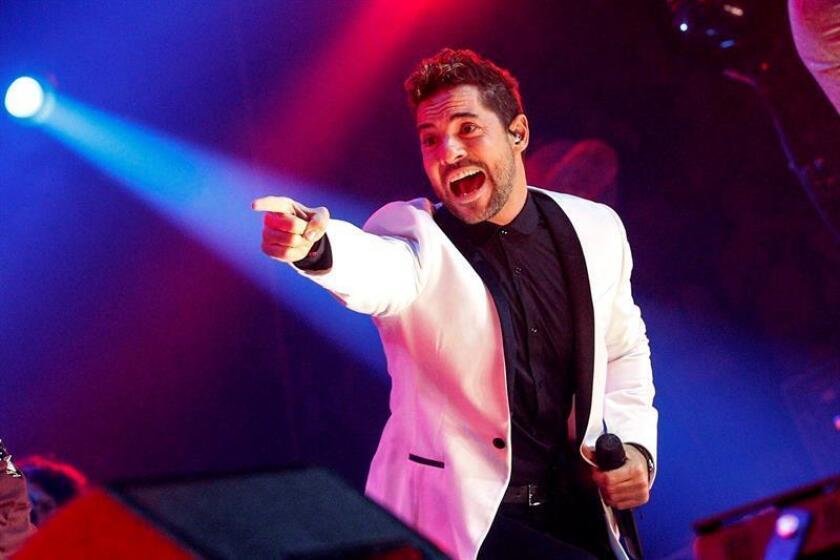"""El cantante español David Bisbal presentará el próximo día 16 en San Juan de Puerto Rico su nueva producción discográfica, """"Hijos del mar"""", en el que se desenvolvió para componer junto a otros destacados músicos. EFE/ARCHIVO"""