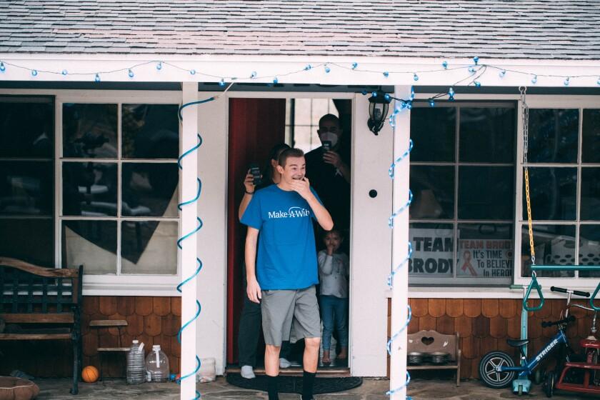 Brody Richardson, 15, of Pine Valley