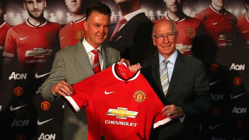 Louis van Gaal, Sir Bobby Charlton