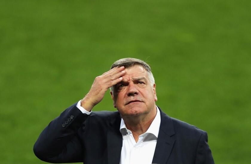 Sam Allardyce, entrenador de Inglaterra.