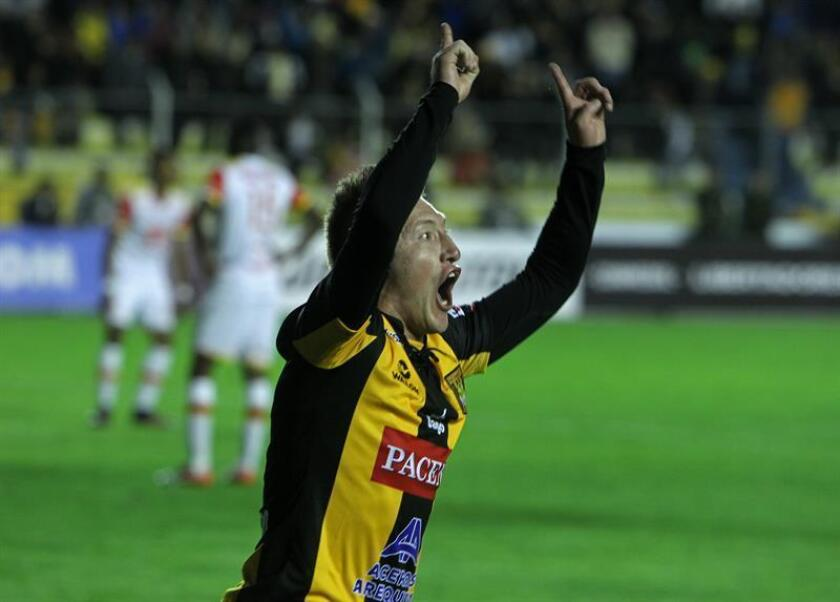 El centrocampista boliviano Alejandro Chumacero. EFE/Archivo