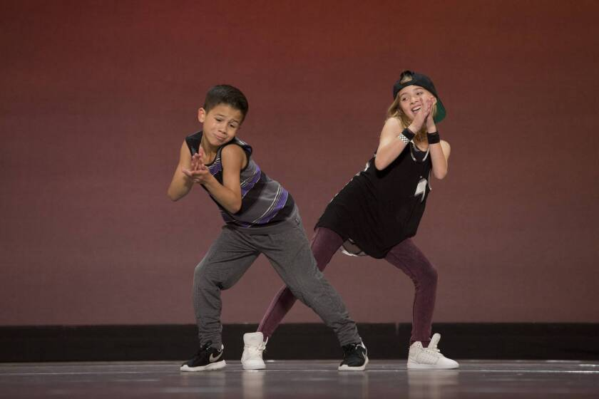 "Contestants perform during academy week on ""So You Think You Can Dance: The Next Generation."""