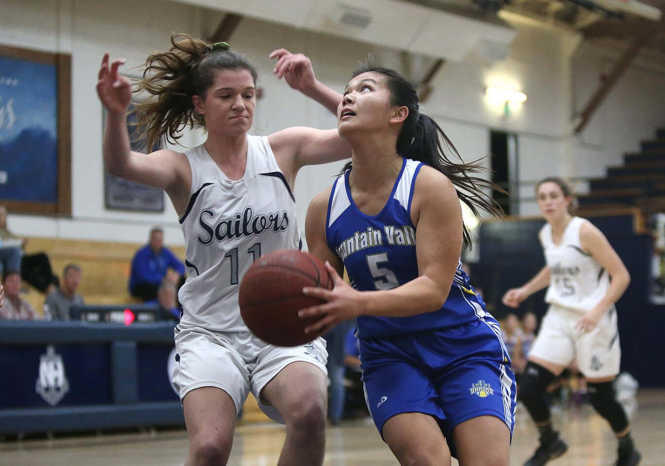 Photo Gallery: Fountain Valley vs. Newport Harbor in girls' basketball