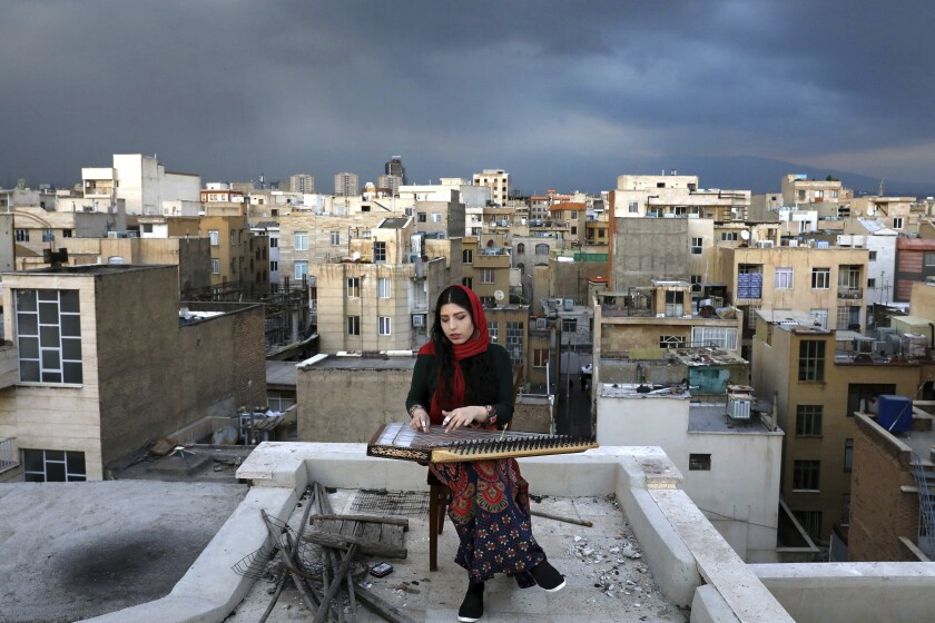 Virus Outbreak Iran Musicians Photo Essay